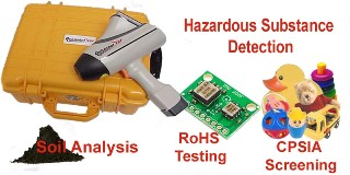 Xray Fluorescence Hazardous Substance Test