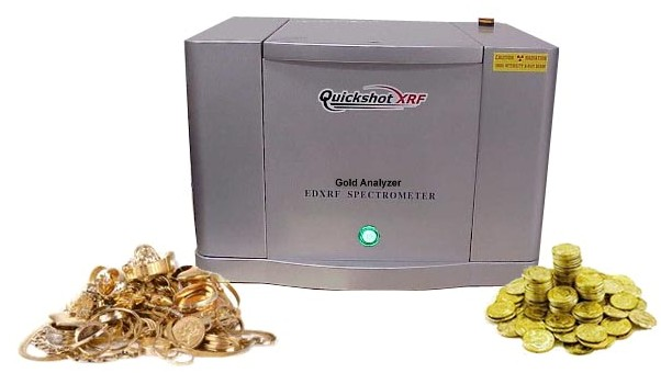 QSX-295T XRF Analyzer with Scrap Jewelry